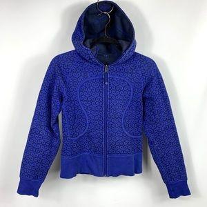 Lululemon Scuba Jacket Zip Up Royal Blue